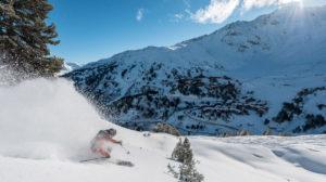 Ski alpin aux Arcs